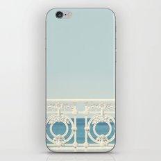 Looking At The Sea iPhone & iPod Skin