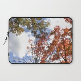 Fall Sky View, Wellesley College Laptop Sleeve