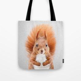 Squirrel 2 - Colorful Tote Bag
