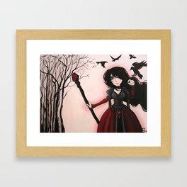 Morgan Le Fay Framed Art Print