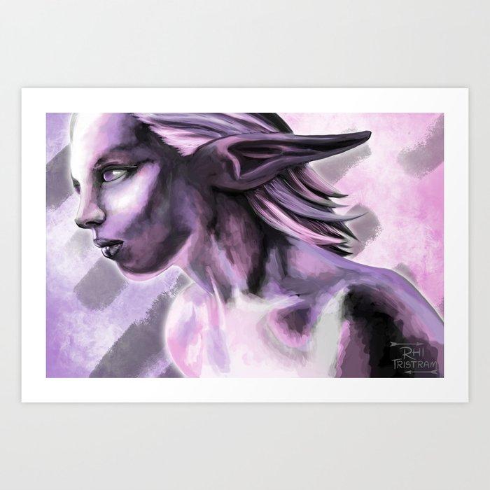 pinkprint Art Print