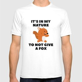 Not Give A Fox T-shirt