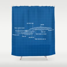 ENTERPRISE NCC-1701-D Shower Curtain