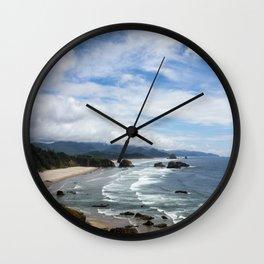 Cannon Beach Oregon, Goonies Location Wall Clock