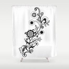 Mehindi Four Shower Curtain