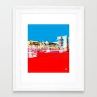 bauhaus Framed Art Prints featuring Bauhaus · Das Bauhaus 1 by Marko Köppe