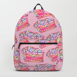 Birthday Cake - Pink BG Backpack