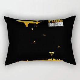 The Battle Begins Rectangular Pillow