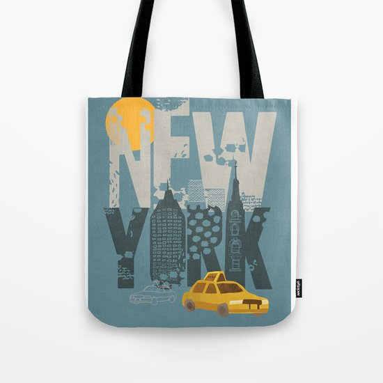 New York! New York! Tote Bag