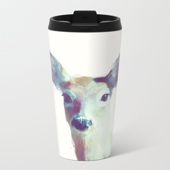 Whitetail No. 1 Metal Travel Mug