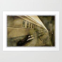 Ghost Travelers Art Print