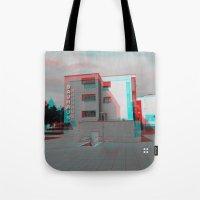 bauhaus Tote Bags featuring Bauhaus · Das Bauhaus 2 by Marko Köppe