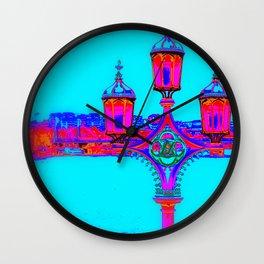 London Lamppost Wall Clock