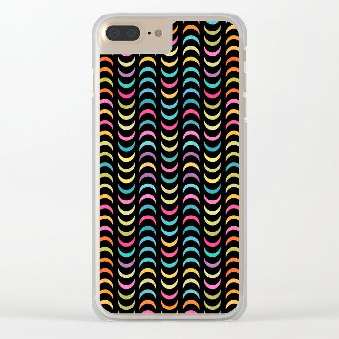 Lovely geometric Pattern VVIV Clear iPhone Case
