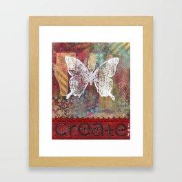 Create Joy Framed Art Print