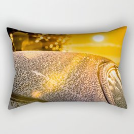 Car Detailing Sunset Beading Rectangular Pillow