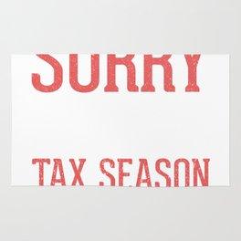 Sorry For What I Said During Tax Season Rug