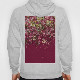 Purple drooping flowers Hoody