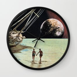 Set Sail for the Stars Wall Clock
