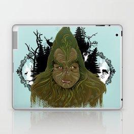 The grinch returns Laptop & iPad Skin