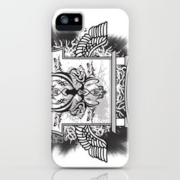 Temple of Hoon Se Kwon iPhone Case