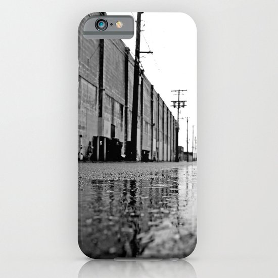 Gritty urban alley iPhone & iPod Case