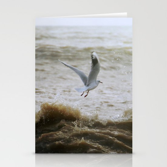 Of wind and waves and flight... Stationery Cards
