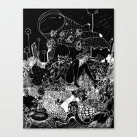 alt j Canvas Prints featuring 1945 ALT ALT by deathbylolis
