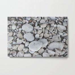 Limestone Beach Metal Print