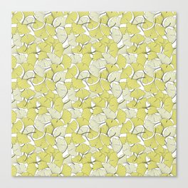 ginkgo leaves (special edition) Canvas Print