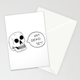 Positive Skeleton Stationery Cards