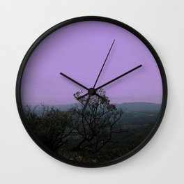 What a waste of a lovely night Wall Clock