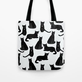 Brothers: Black cats Tote Bag