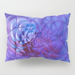 blue ln Pillow Sham