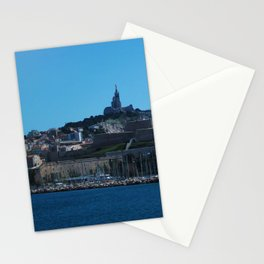 Marseilles from Sea Stationery Cards