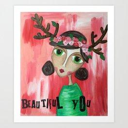 Coco's Closet- Beautiful You Art Print