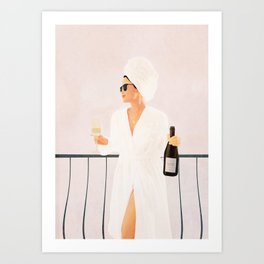 Morning Wine II Art Print