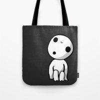 kodama Tote Bags featuring Kodama! by BlondieAu
