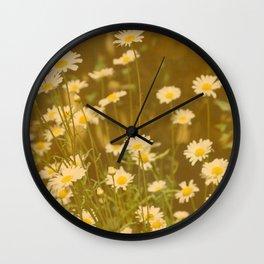 DAISIES - IN MEMORY OF MACKENZIE Wall Clock