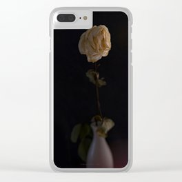 Tempus fugit • Fig. I • Color Clear iPhone Case