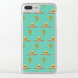Sombrero party Clear iPhone Case