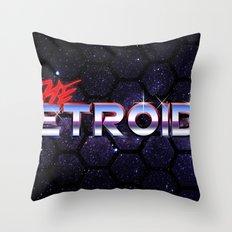 The Retroids Throw Pillow