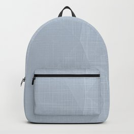 A Touch Of Grey - Soft Geometric Minimalist Backpack