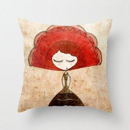flamenca Throw Pillow