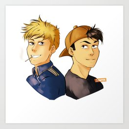 Best Boys Art Print