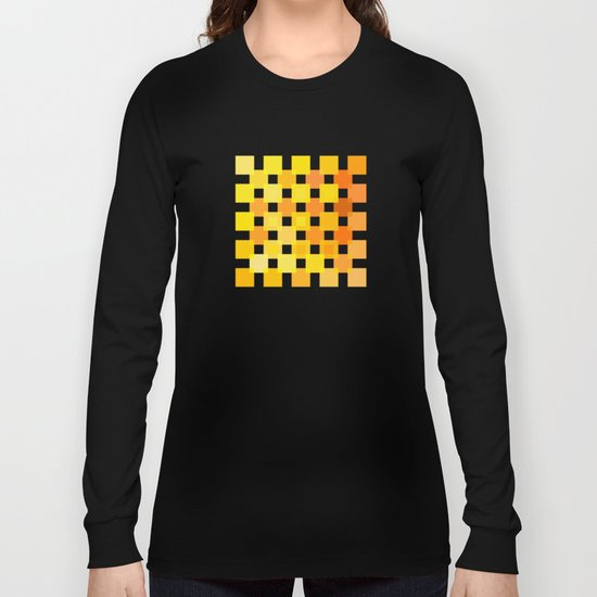 50 Squares of YELLOW - Living Hell Long Sleeve T-shirt
