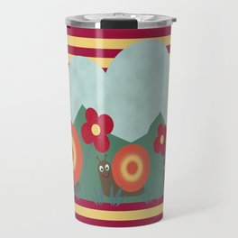 Snail Trails Travel Mug