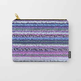 Lilac Blue Carpet Carry-All Pouch