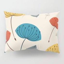 Dandelions in the wind Pillow Sham