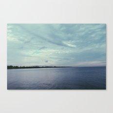 beach tones. Canvas Print